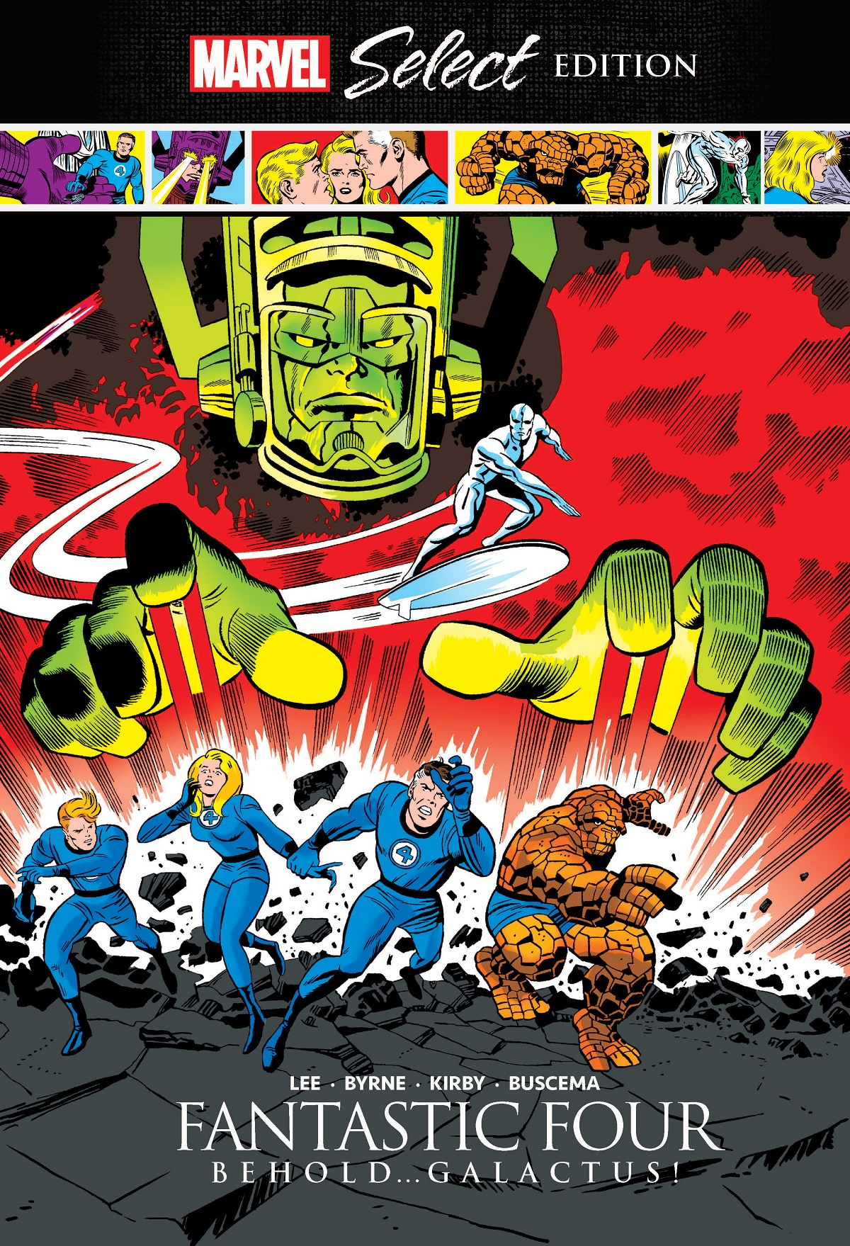 Fantastic Four: Behold… Galactus! Marvel Select (Hardcover)