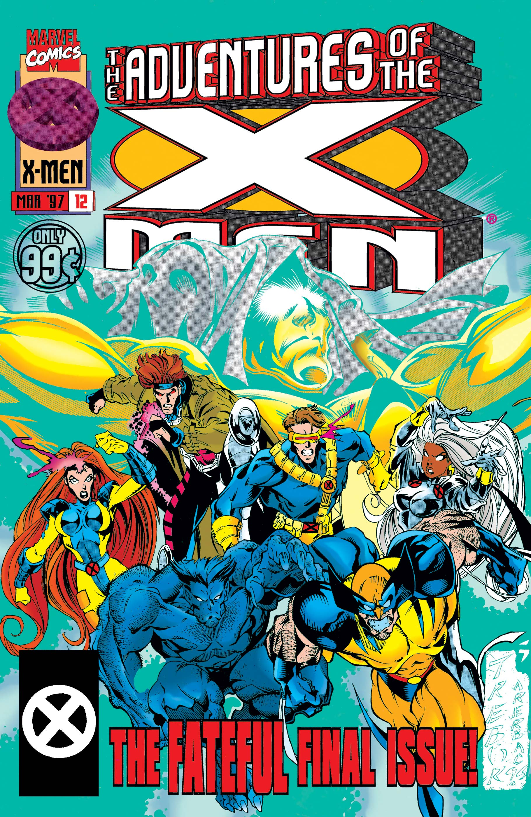 Adventures of the X-Men (1996) #12