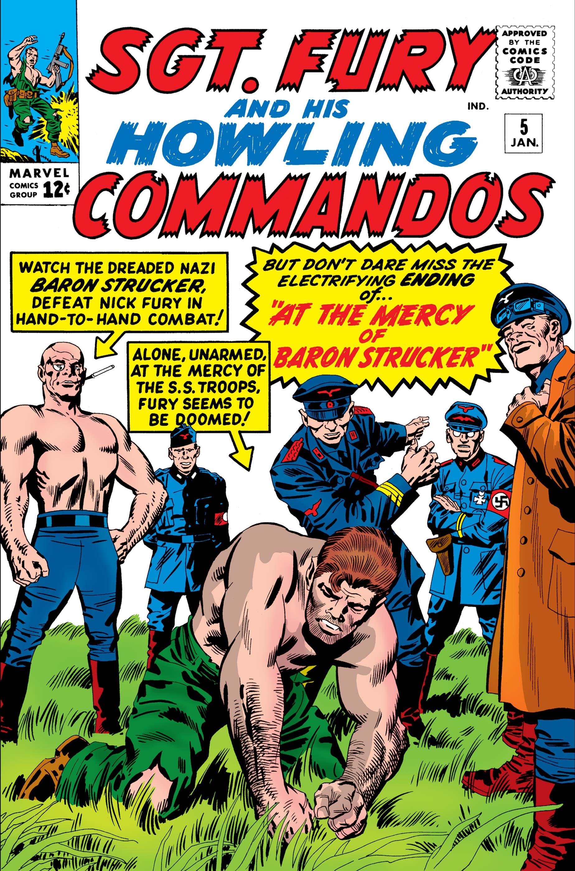 Sgt. Fury (1963) #5