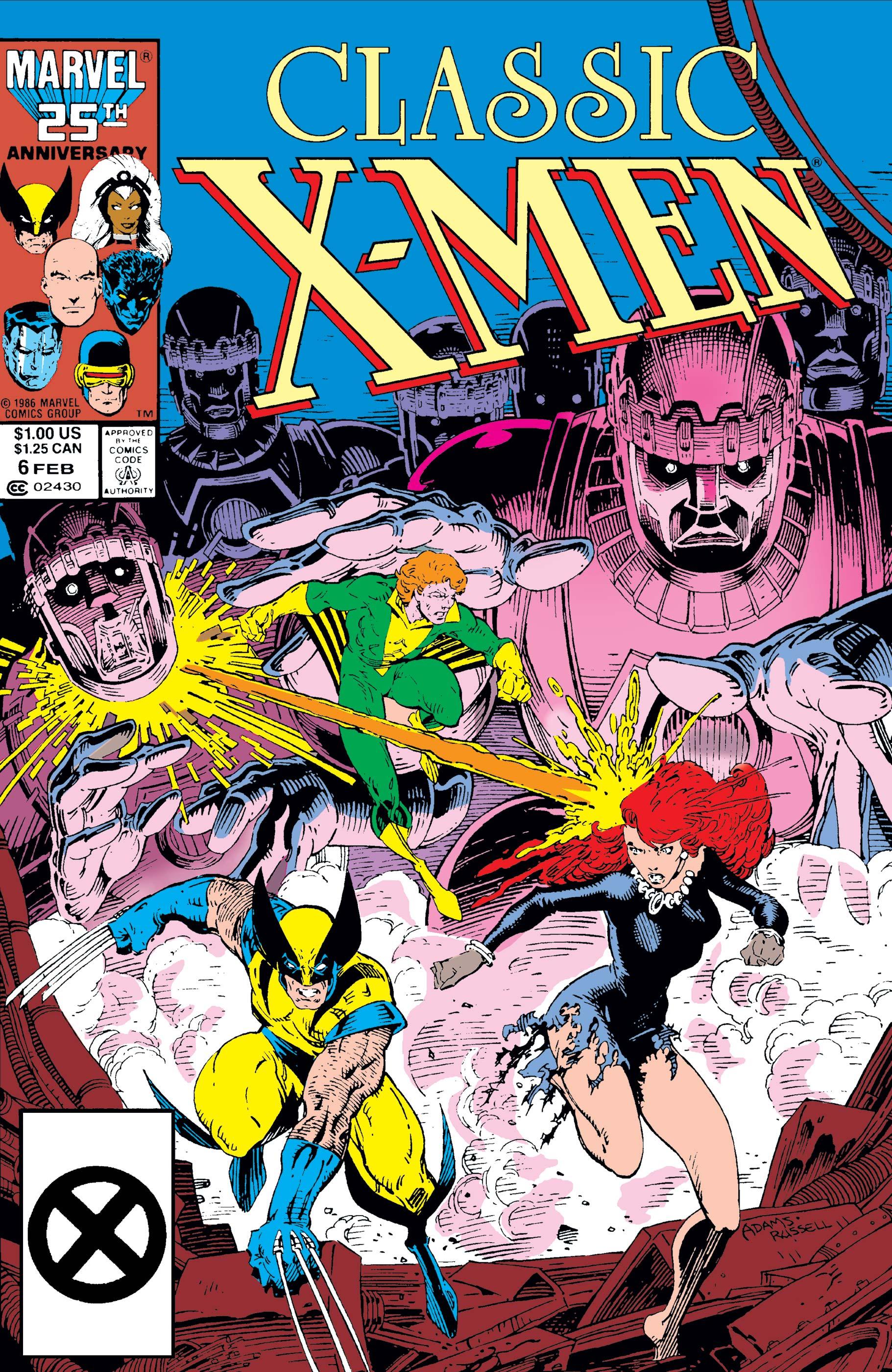 Classic X-Men (1986) #6