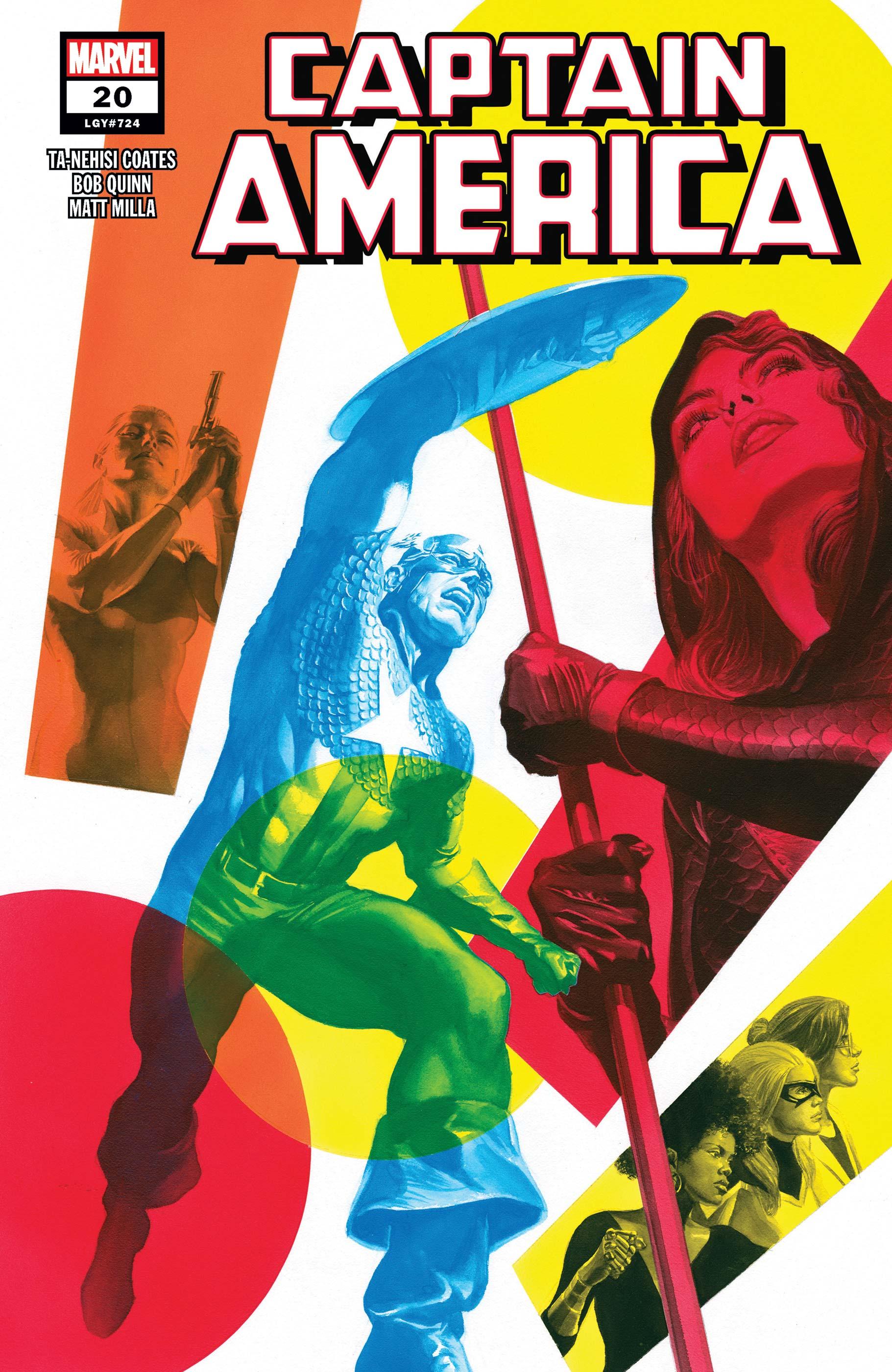 Captain America (2018) #20