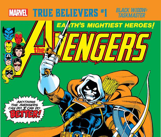 TRUE BELIEVERS: BLACK WIDOW - TASKMASTER 1 #1