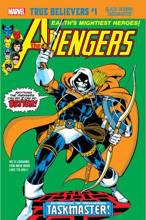 True Believers: Black Widow - Taskmaster  #1