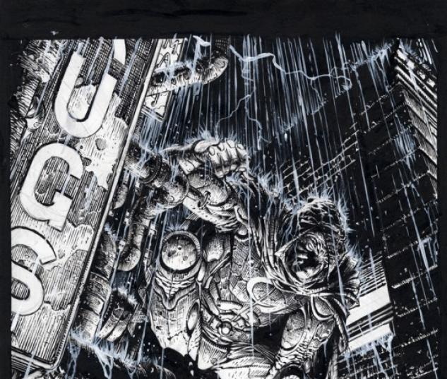 VENGEANCE OF THE MOON KNIGHT #1 SECOND PRINTING FINCH SKETCH VARIANT