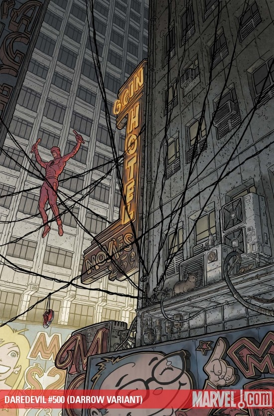Daredevil (1998) #500 (DARROW VARIANT)