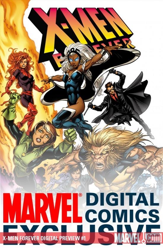 X-Men Forever Digital Preview (2009) #1