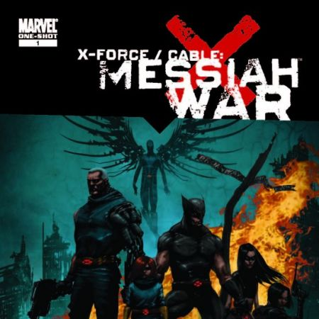 X-FORCE/CABLE: MESSIAH WAR PROLOGUE Andrews Cover