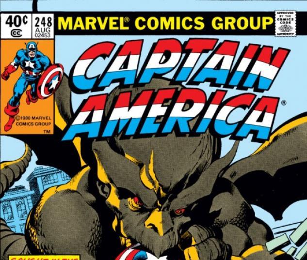 CAPTAIN AMERICA #248 COVER