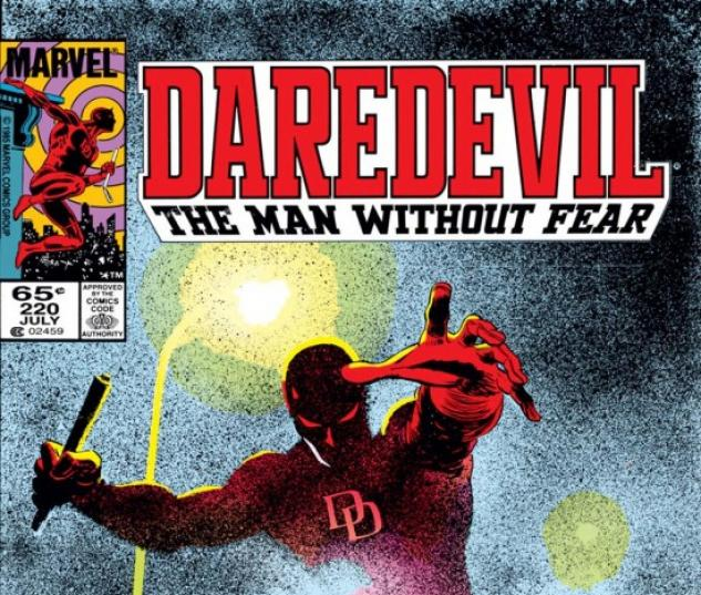 DAREDEVIL #220 COVER