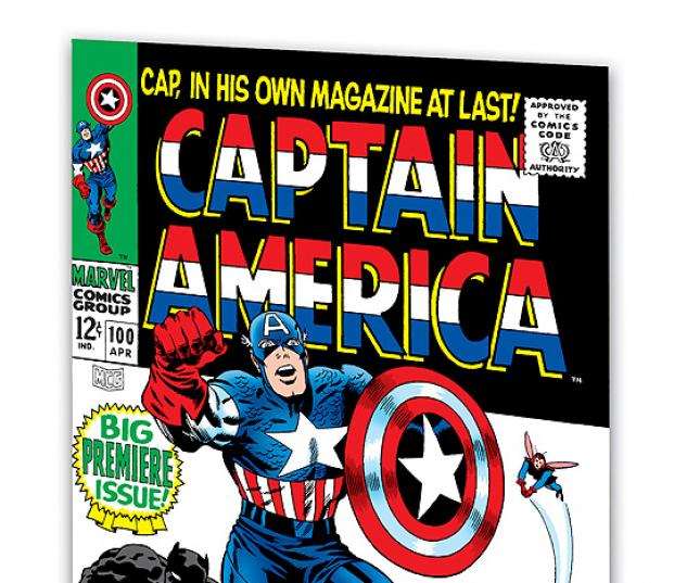 ESSENTIAL CAPTAIN AMERICA VOL. 1 TPB  #0