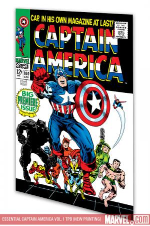 Essential Captain America Vol. 1 (Trade Paperback)