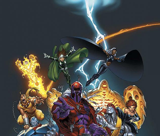 OFFICIAL HANDBOOK OF THE MARVEL UNIVERSE (2006) (X-MEN - AGE OF APOCALYPSE) COVER