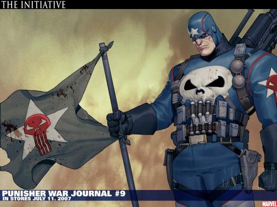 Punisher War Journal (1988) #9 Wallpaper