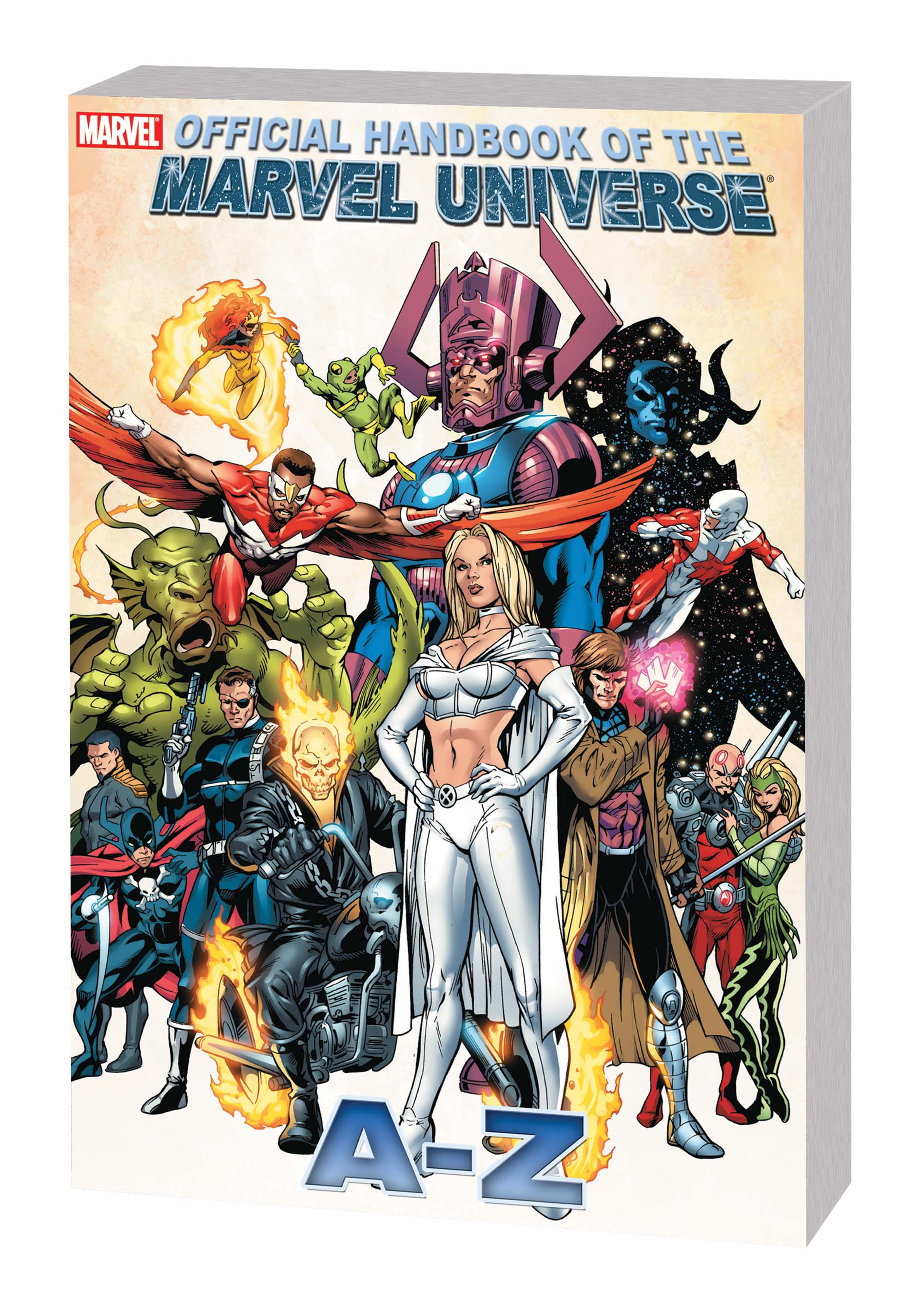 OFFICIAL HANDBOOK OF THE MARVEL UNIVERSE A TO Z VOL. 4 TPB (Trade Paperback)