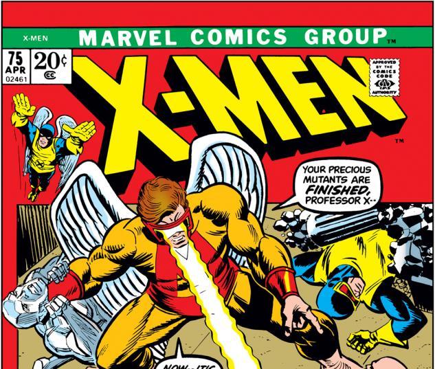 Uncanny X-Men #75 Cover