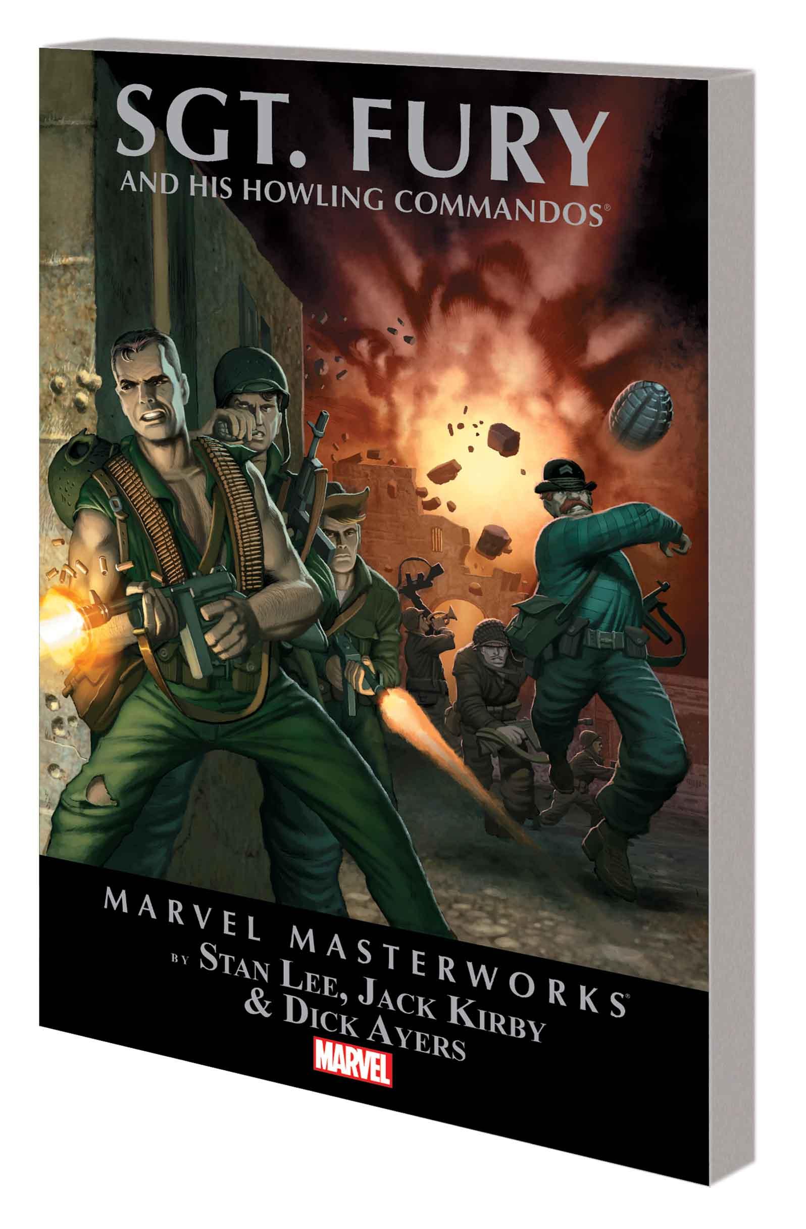 Marvel Masterworks: Sgt. Fury (Trade Paperback)