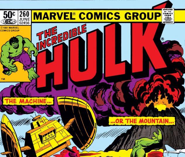 Incredible Hulk (1962) #260 Cover