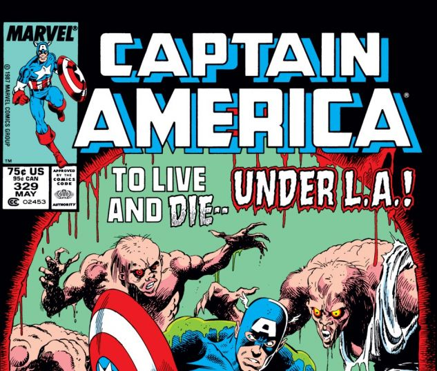 Captain America (1968) #329 Cover