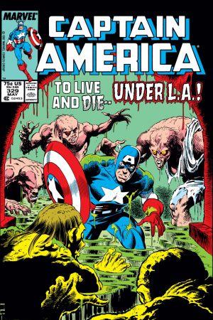 Captain America (1968) #329
