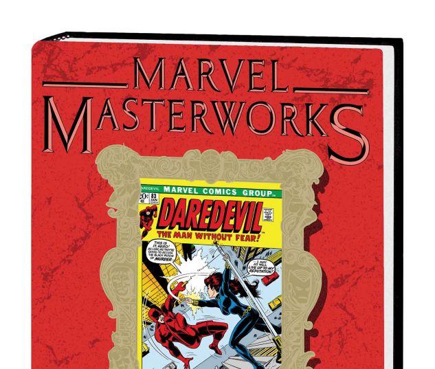 MARVEL MASTERWORKS: DAREDEVIL VOL. 8 HC VARIANT (DM ONLY)