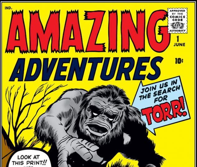 Amazing Adventures (1961) #1 Cover