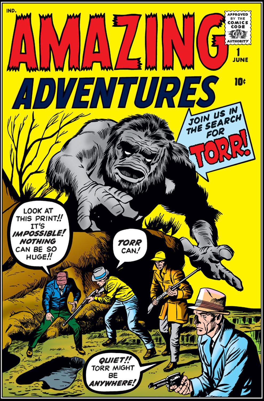 Amazing Adventures (1961) #1