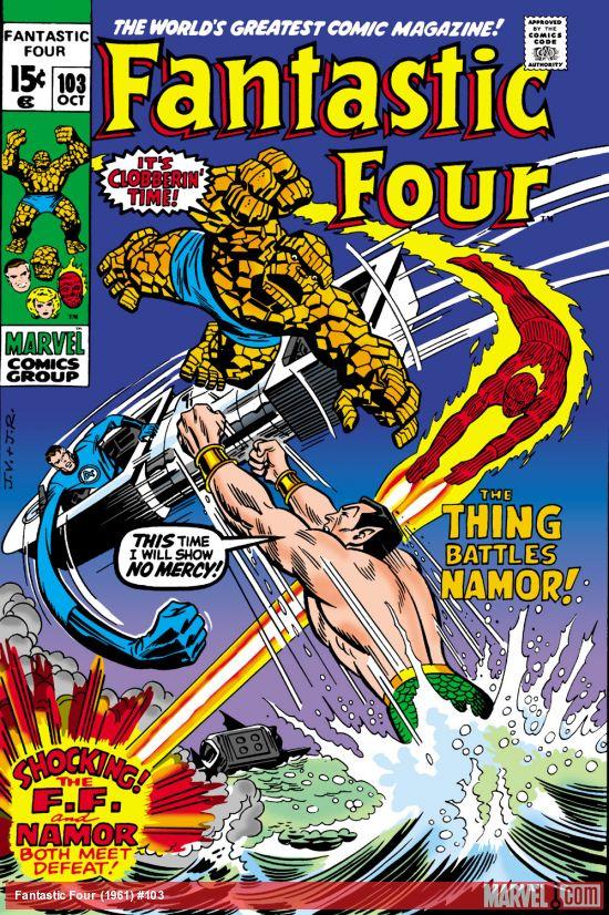 Fantastic Four (1961) #103