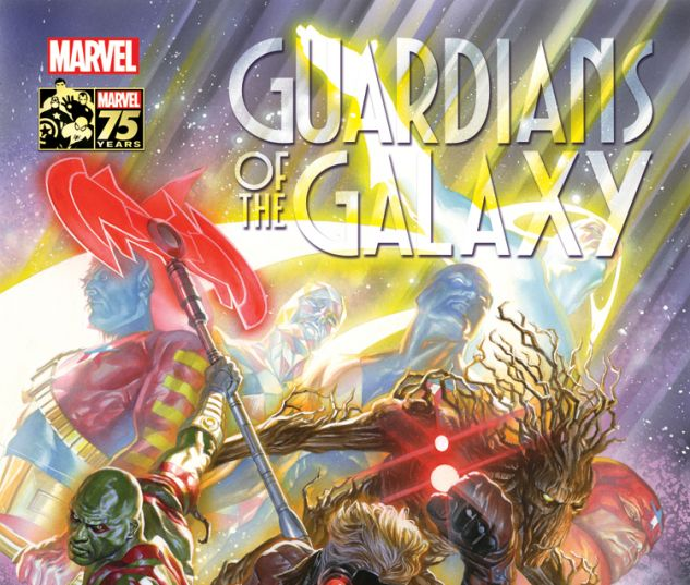 GUARDIANS OF THE GALAXY 18 ROSS 75TH ANNIVERSARY VARIANT (SIN, WITH DIGITAL CODE)