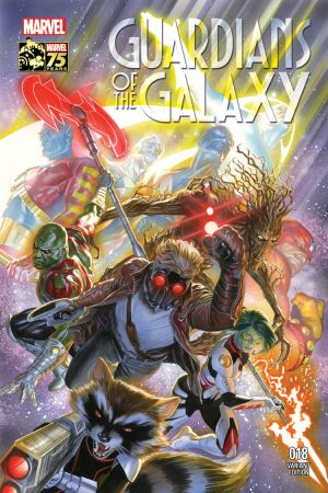 Guardians of the Galaxy (2013) #18 (Ross 75th Anniversary Variant)
