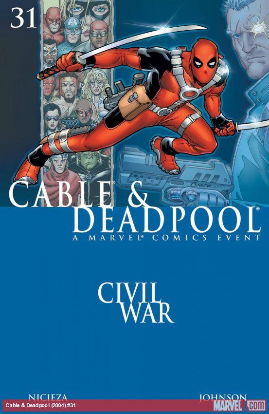 Cable & Deadpool (2004) #31
