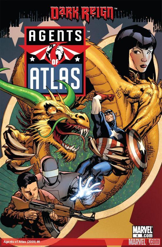 Agents of Atlas (2009) #4