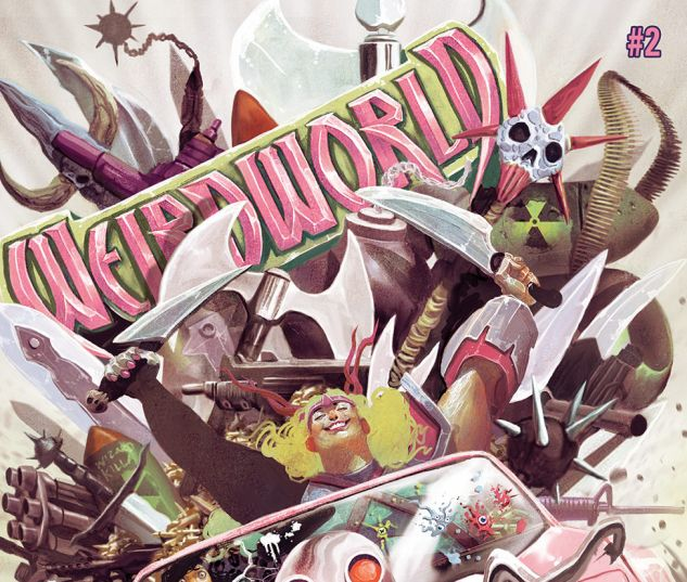 WEIRDWORLD 2 (WITH DIGITAL CODE)
