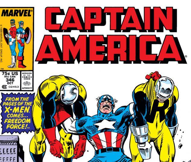Captain America (1968) #346