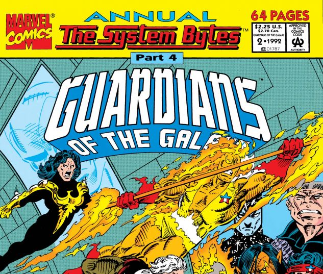 Guardians of the Galaxy Annual (1991) #2