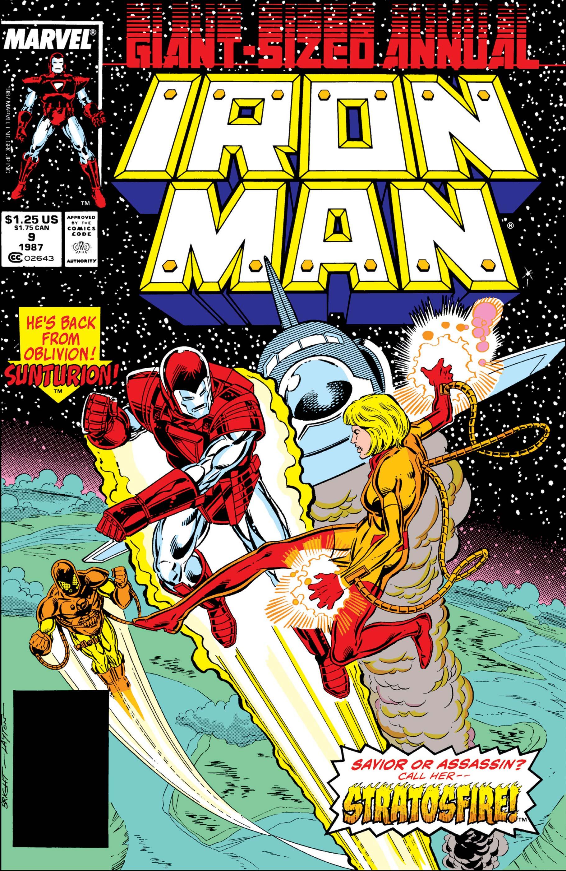 Iron Man Annual (1970) #9