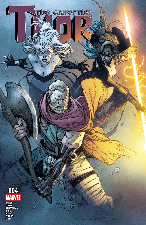The Unworthy Thor (2016) #4