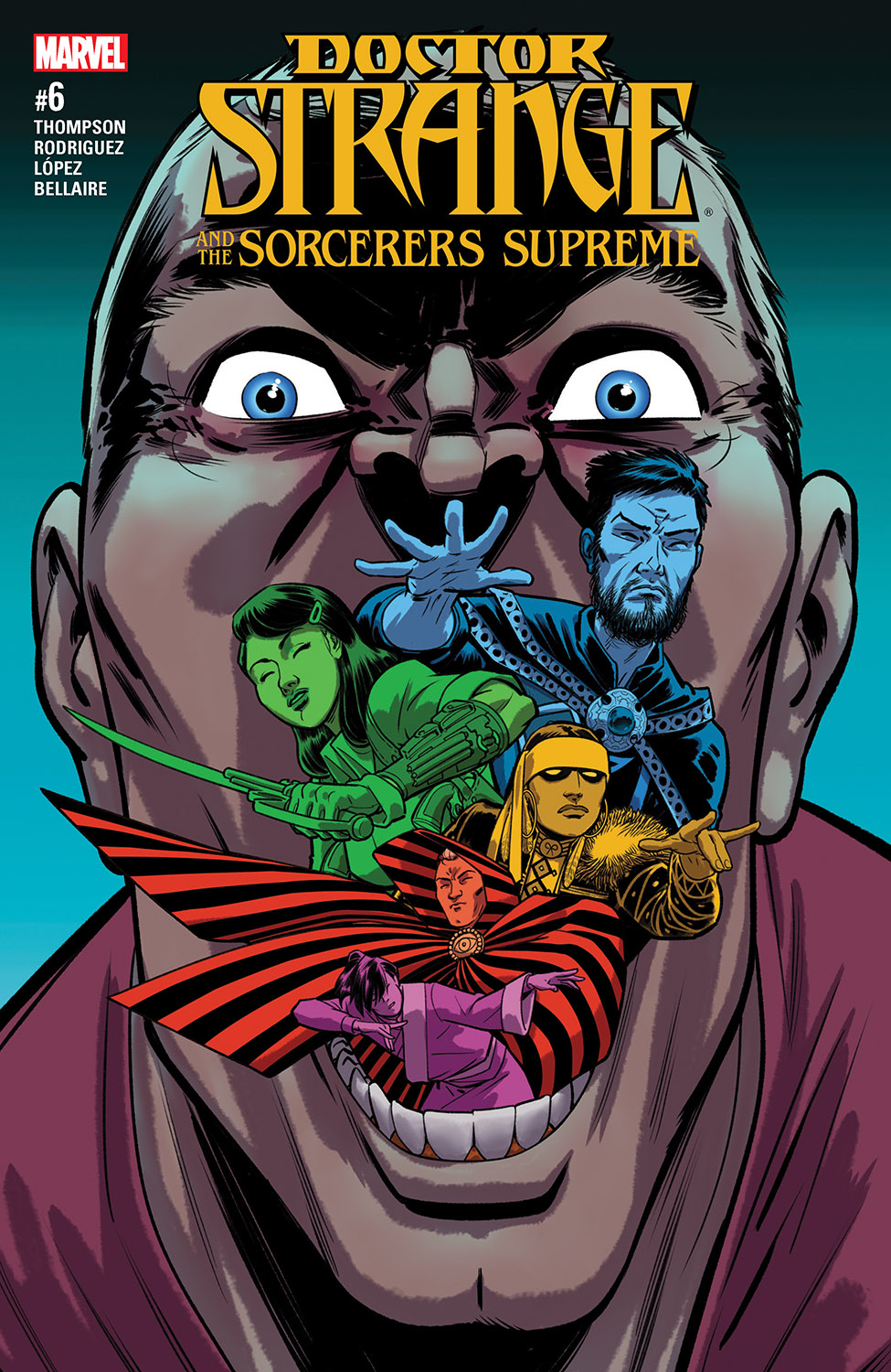 Doctor Strange And The Sorcerers Supreme (2016) #6