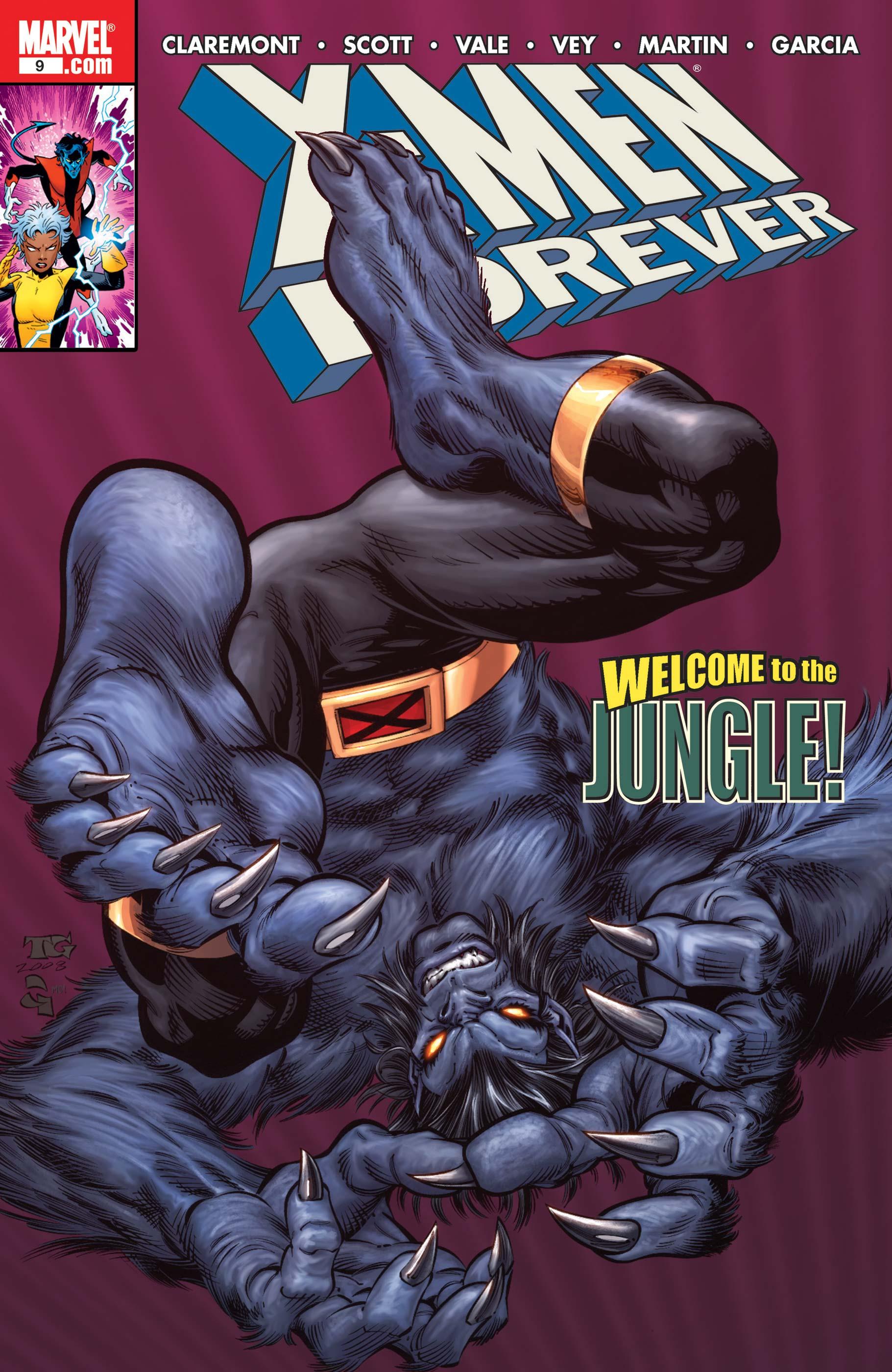 X-Men Forever (2009) #9