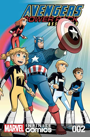 Avengers and Power Pack (2017) #2