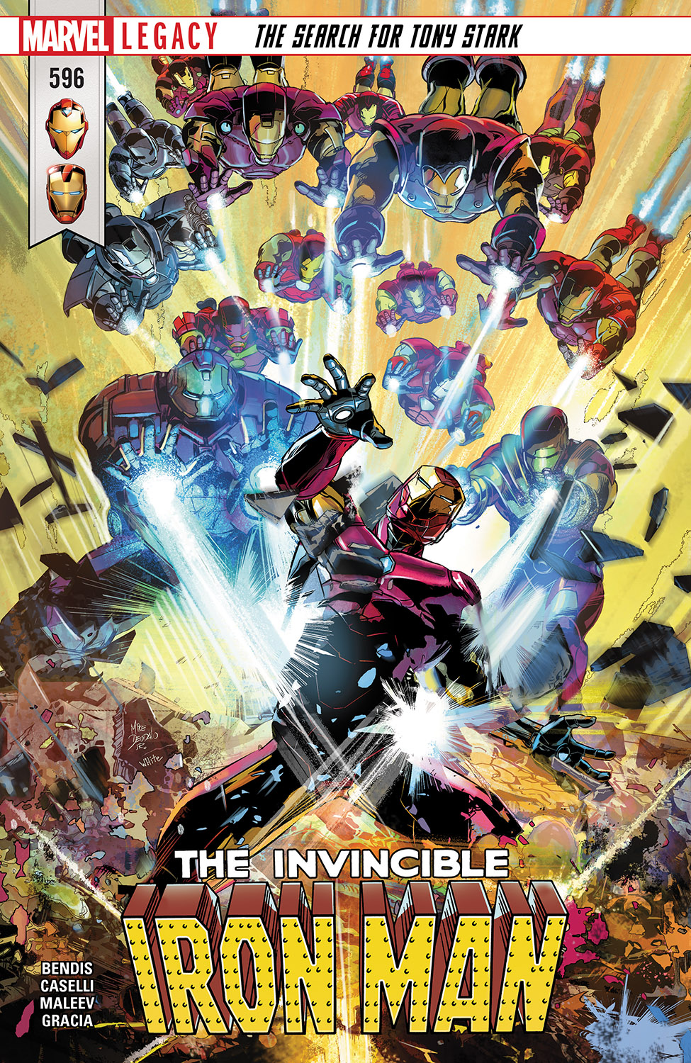 Invincible Iron Man (2016) #596