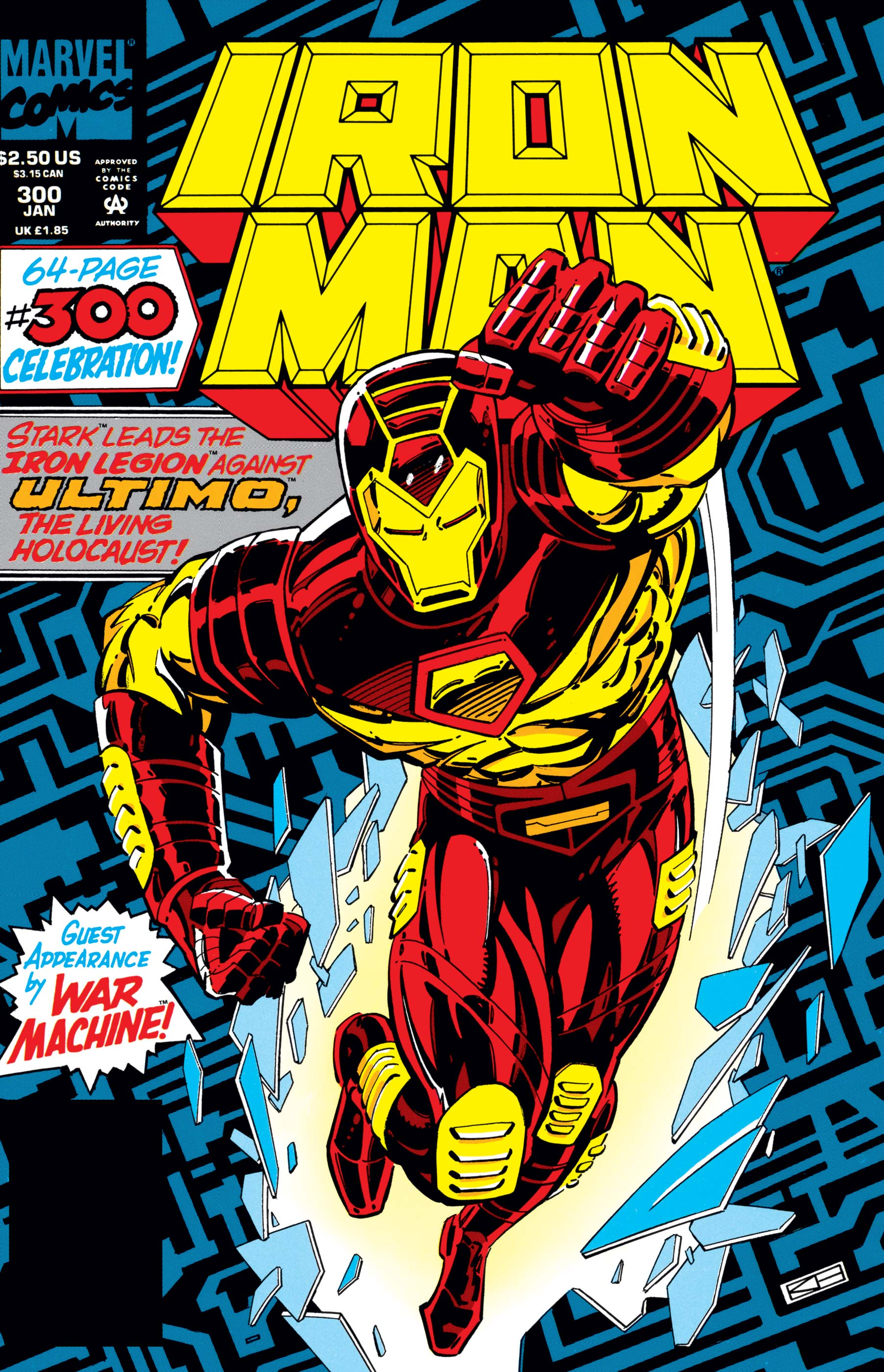 Cover from the first appearance