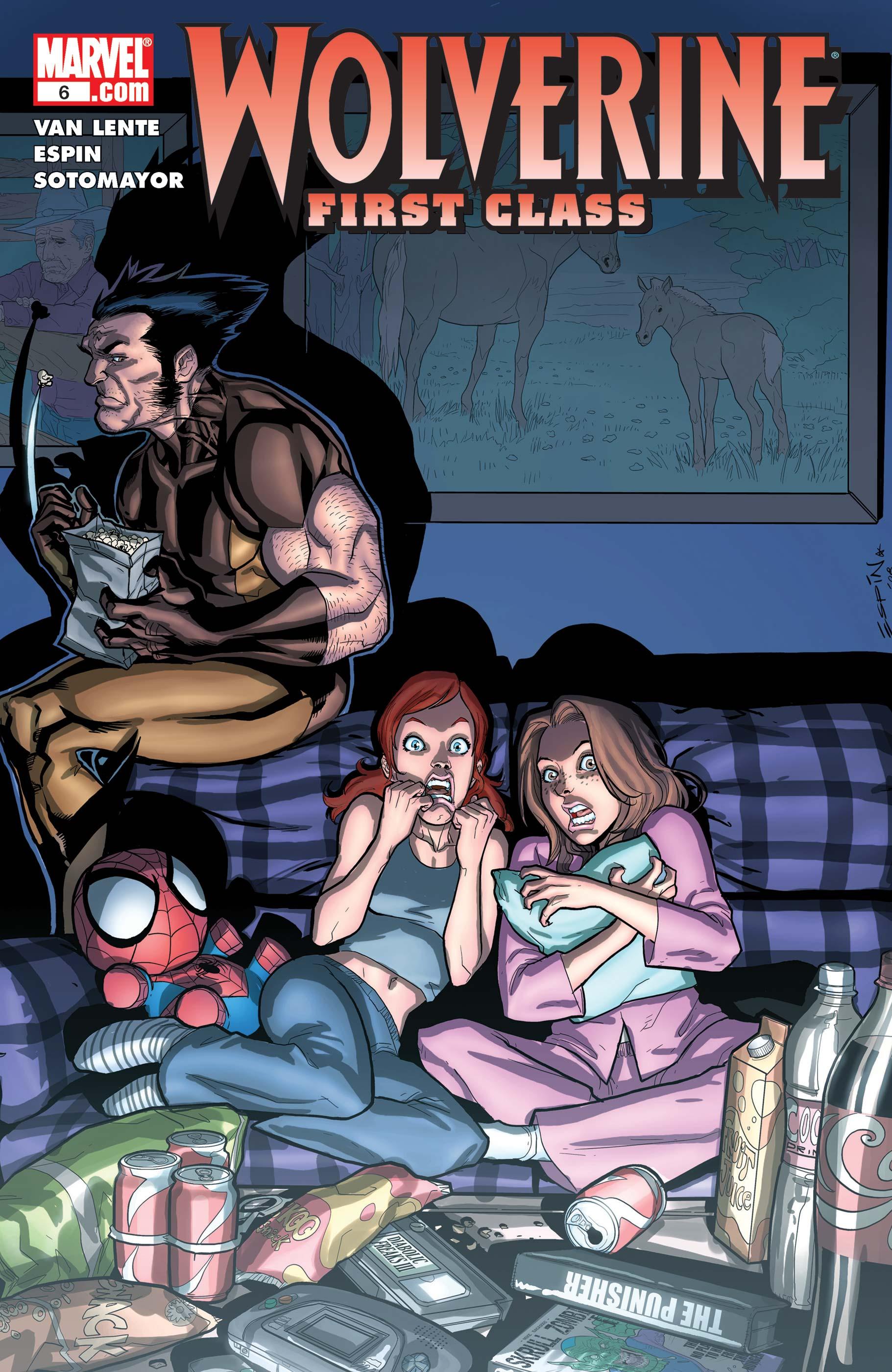 Wolverine: First Class (2008) #6