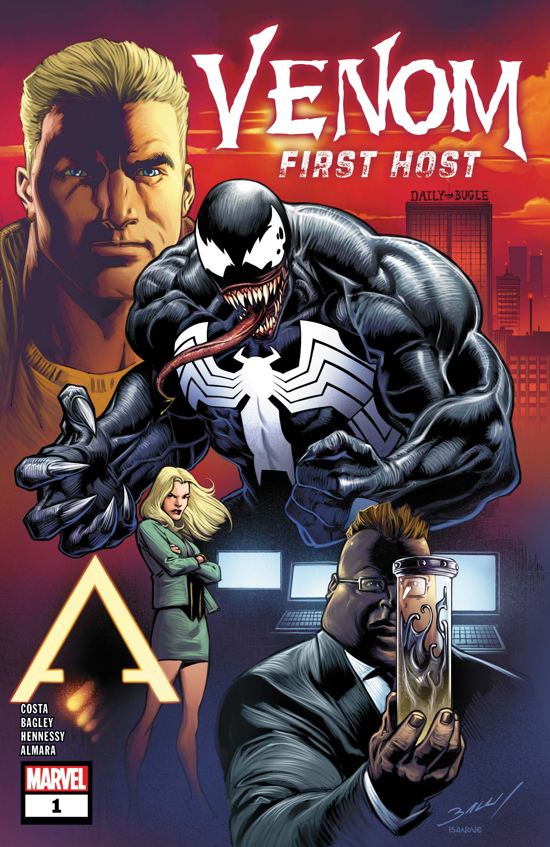Venom: First Host (2018) #1
