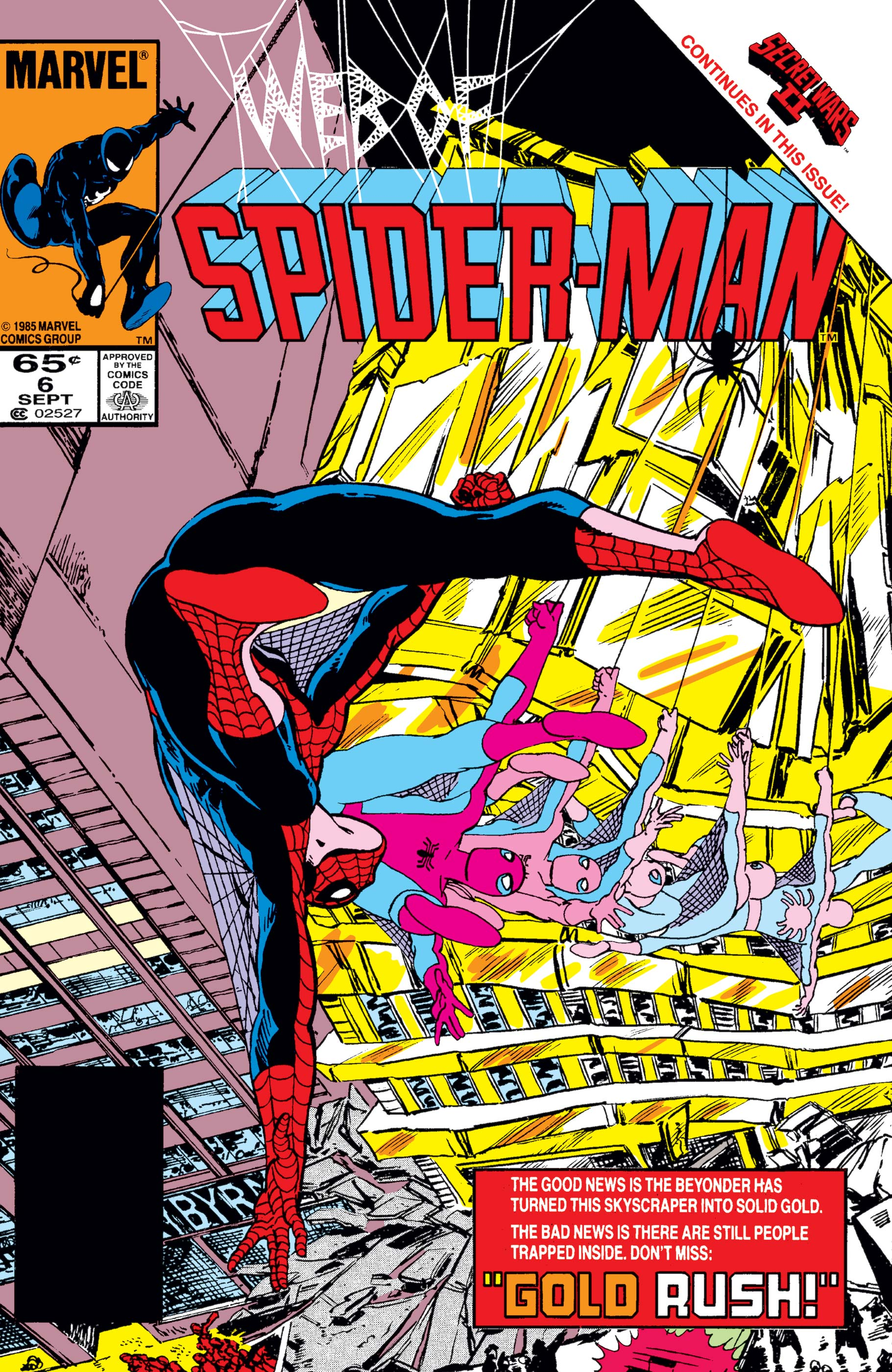 Web of Spider-Man (1985) #6