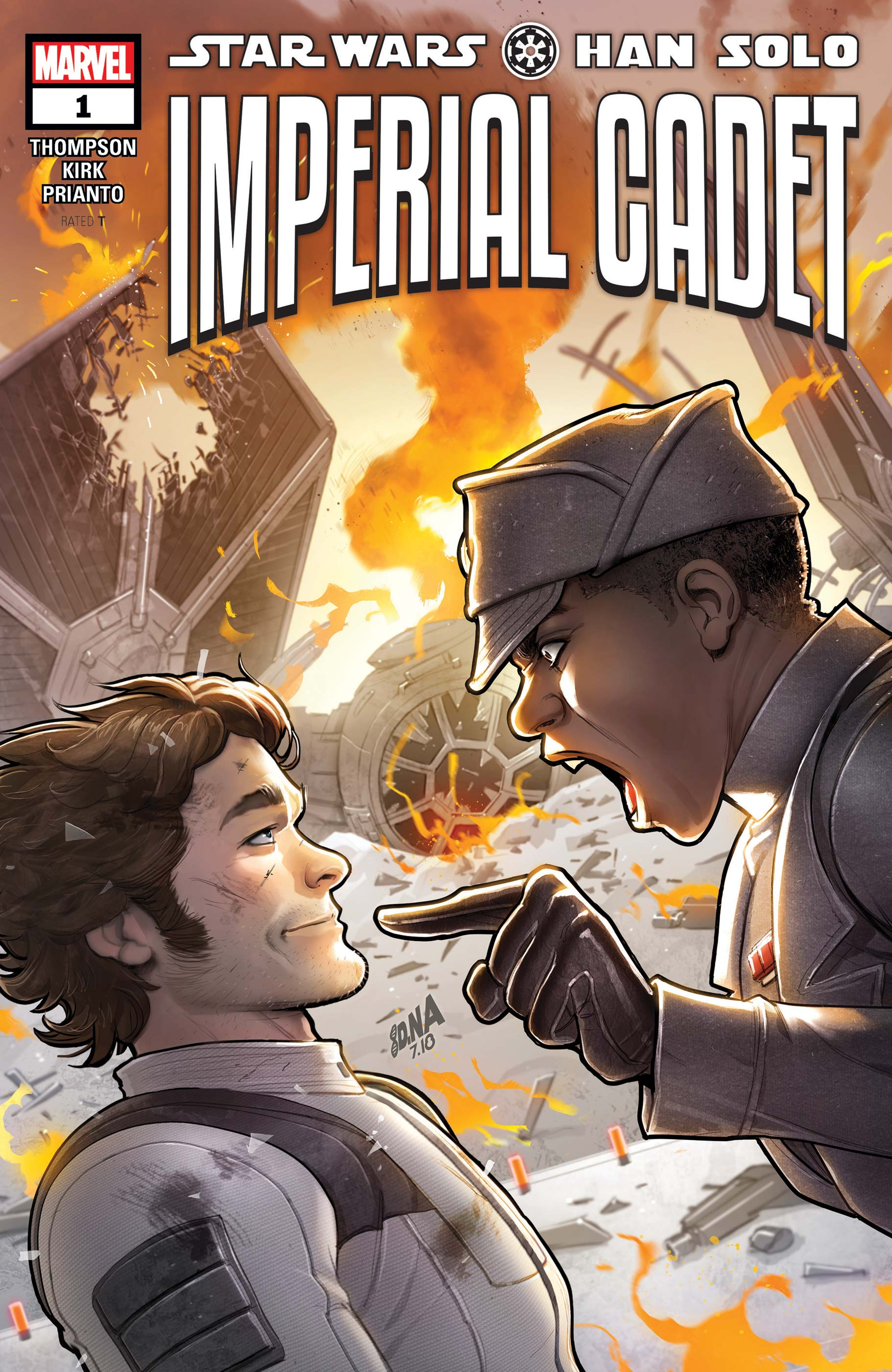 Star Wars: Han Solo - Imperial Cadet (2018) #1