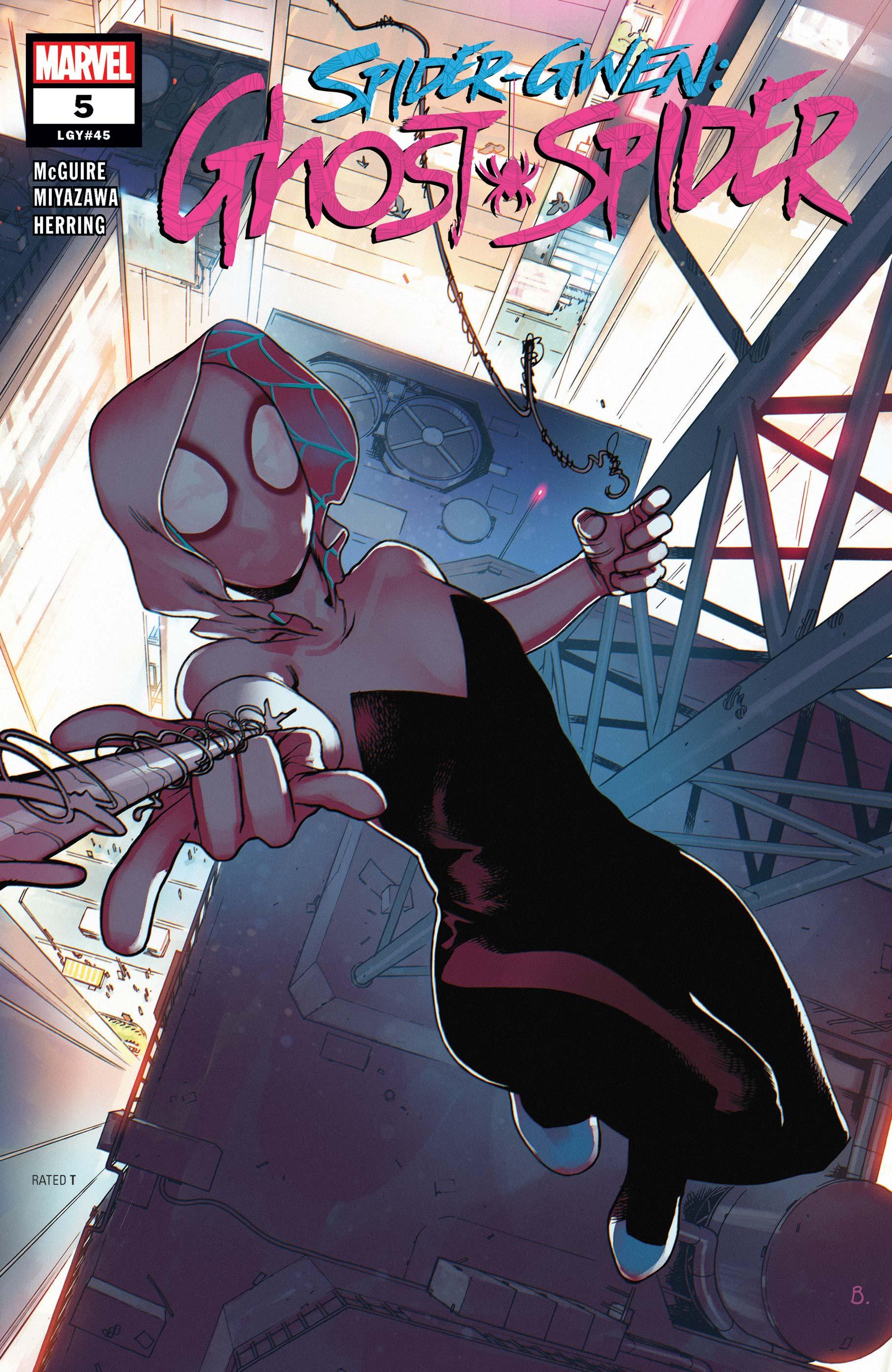 Spider-Gwen: Ghost-Spider (2018) #5