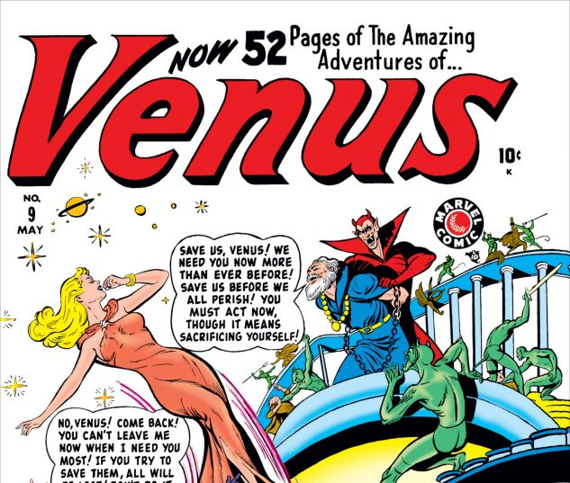 cover from Venus (1948) #9