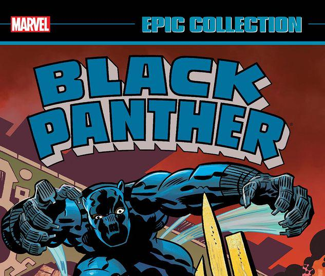 BLACK PANTHER EPIC COLLECTION: REVENGE OF THE BLACK PANTHER TPB #1