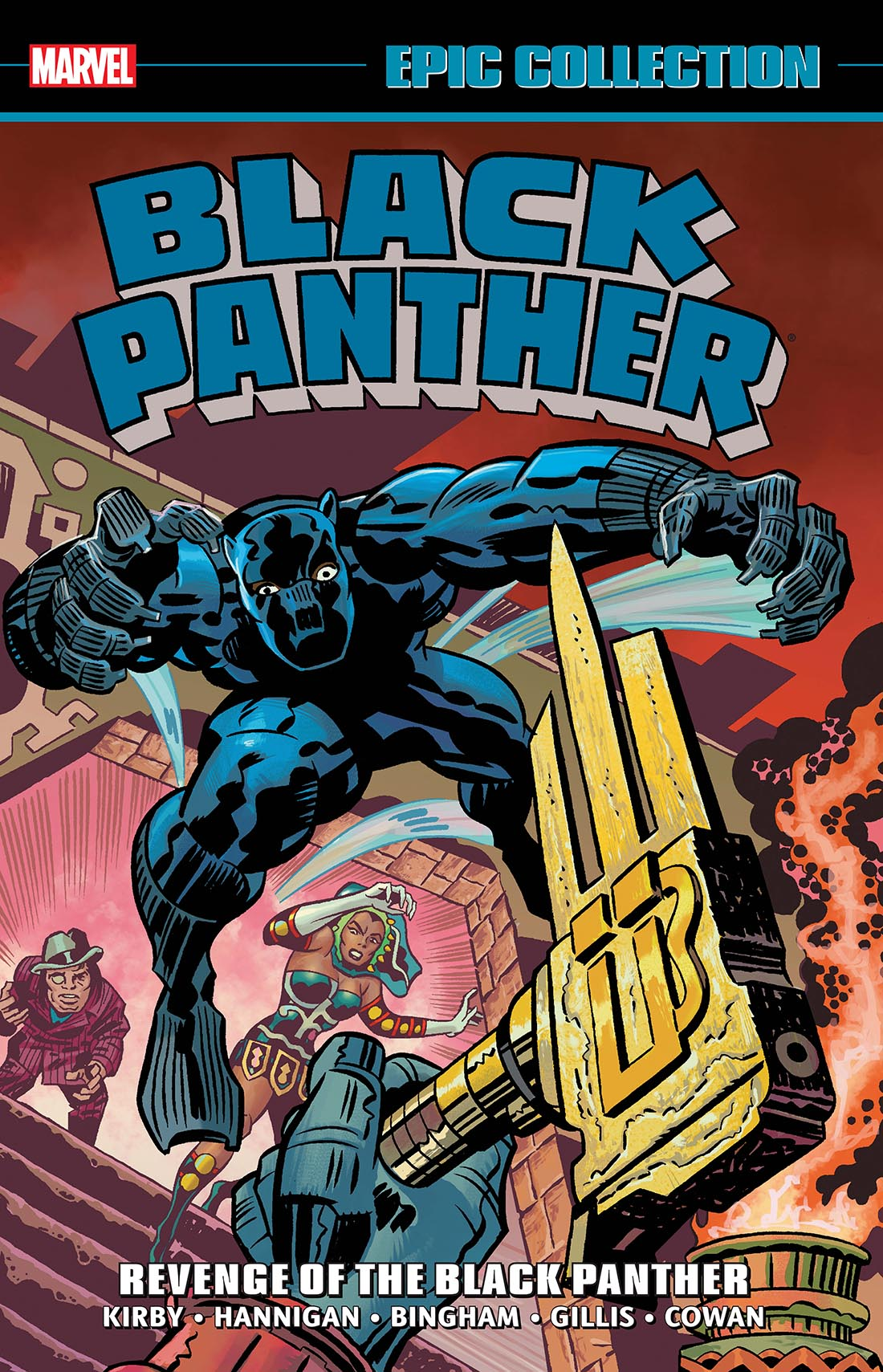 Black Panther Epic Collection: Revenge Of The Black Panther (Trade Paperback)