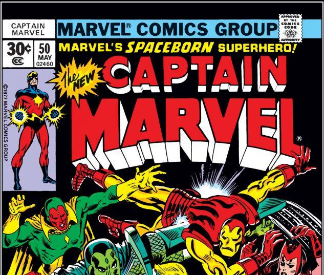 CAPTAIN MARVEL (1968) #50
